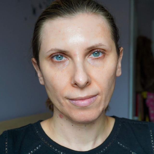 Charlotte Tilbury Airbrush Flawless Foundation, before and after photos