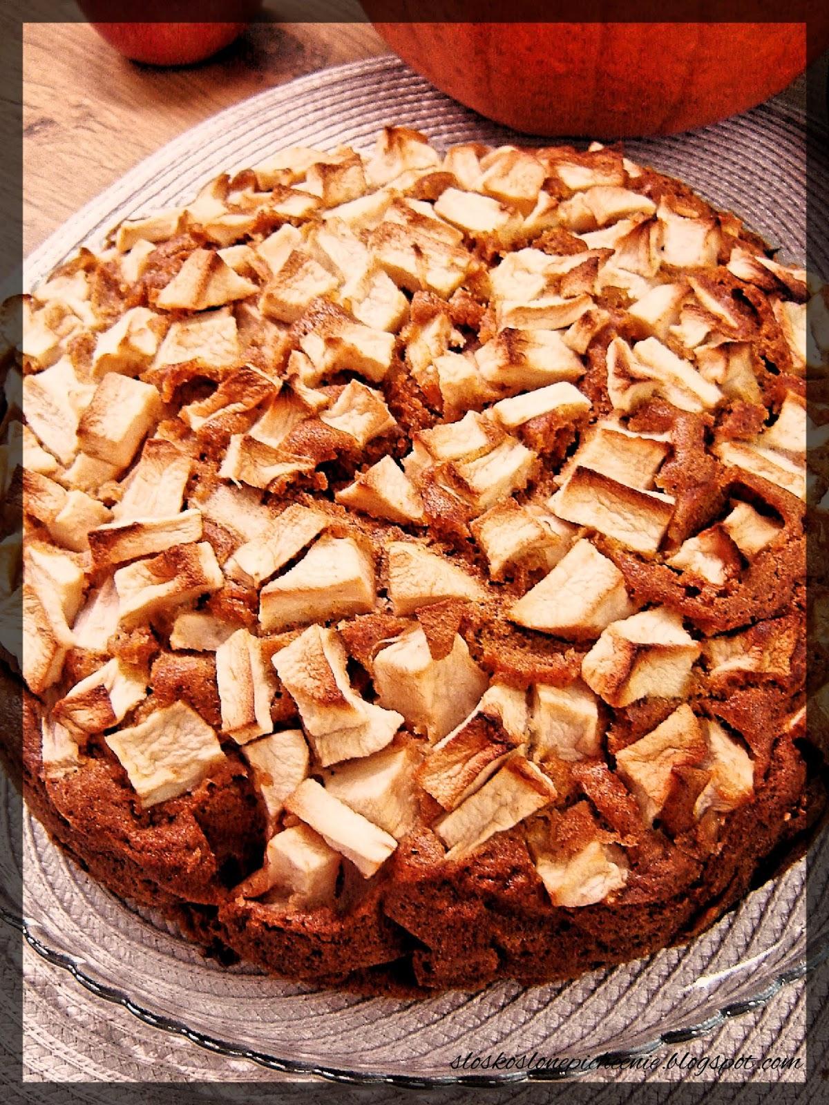 Ciasto dyniowe z jabłkami