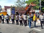 Aksi Damai Masyarakat Peduli Bawaslu, Polres Situbondo Kerahkan 85 Personil