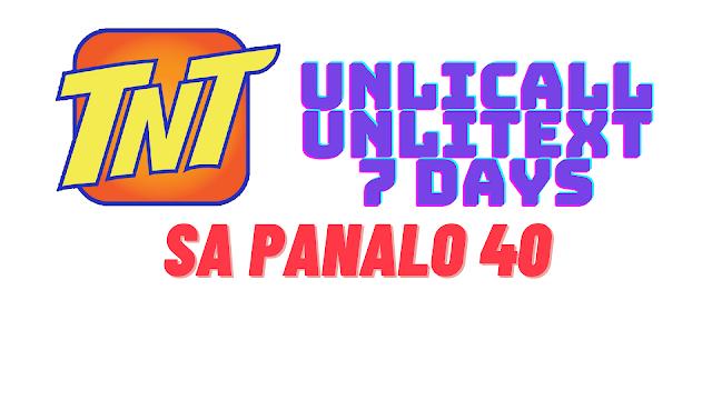Panalo 40 Swak sa Budget ng mga TNT Subscribers