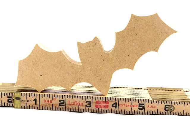 Handmade MDF Halloween Bat Cutout