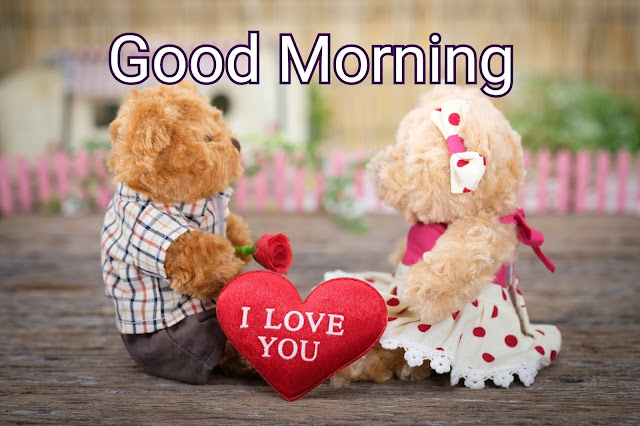 Good morning cute love image