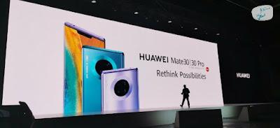 إطلاق سلسلة هواتف هواوي  HuaweiMate30 و HuaweiMate30Pro