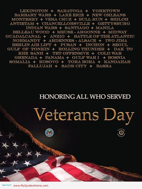 Meaningful Happy Veterans Day Wishes