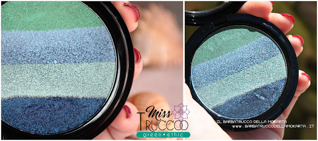 miss trucco eyeshadow palette ombretti terra  acqua  review