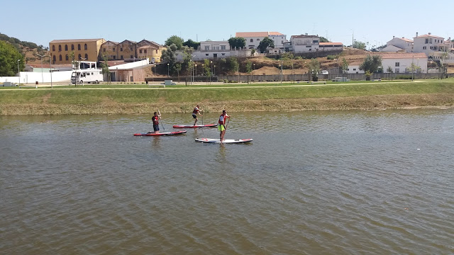 Stand Up paddle no Rio Mira em Odemira