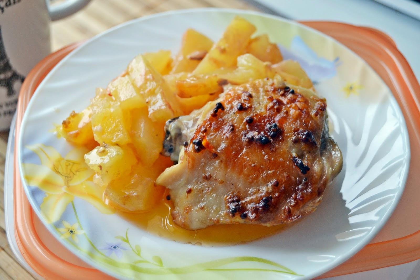 Рецепты с куриных бедрышек