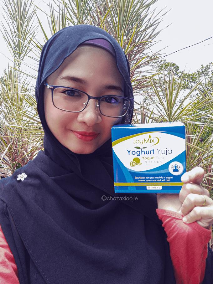 Joymix Yoghurt Yuja Probiotic Supplement Terbaik untuk Imunnity Tubuh Badan Seisi Keluarga