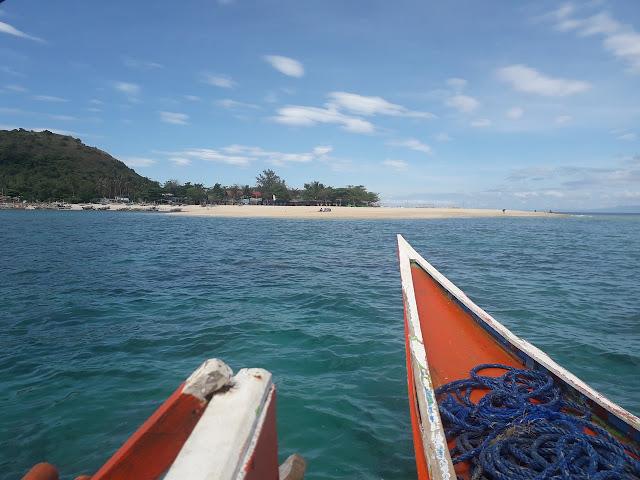 Approaching Mararison Island
