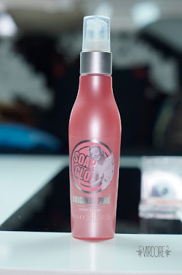 soap and glory body mist