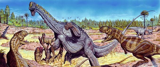 Resultado de imagem para dinossauro brasileiro