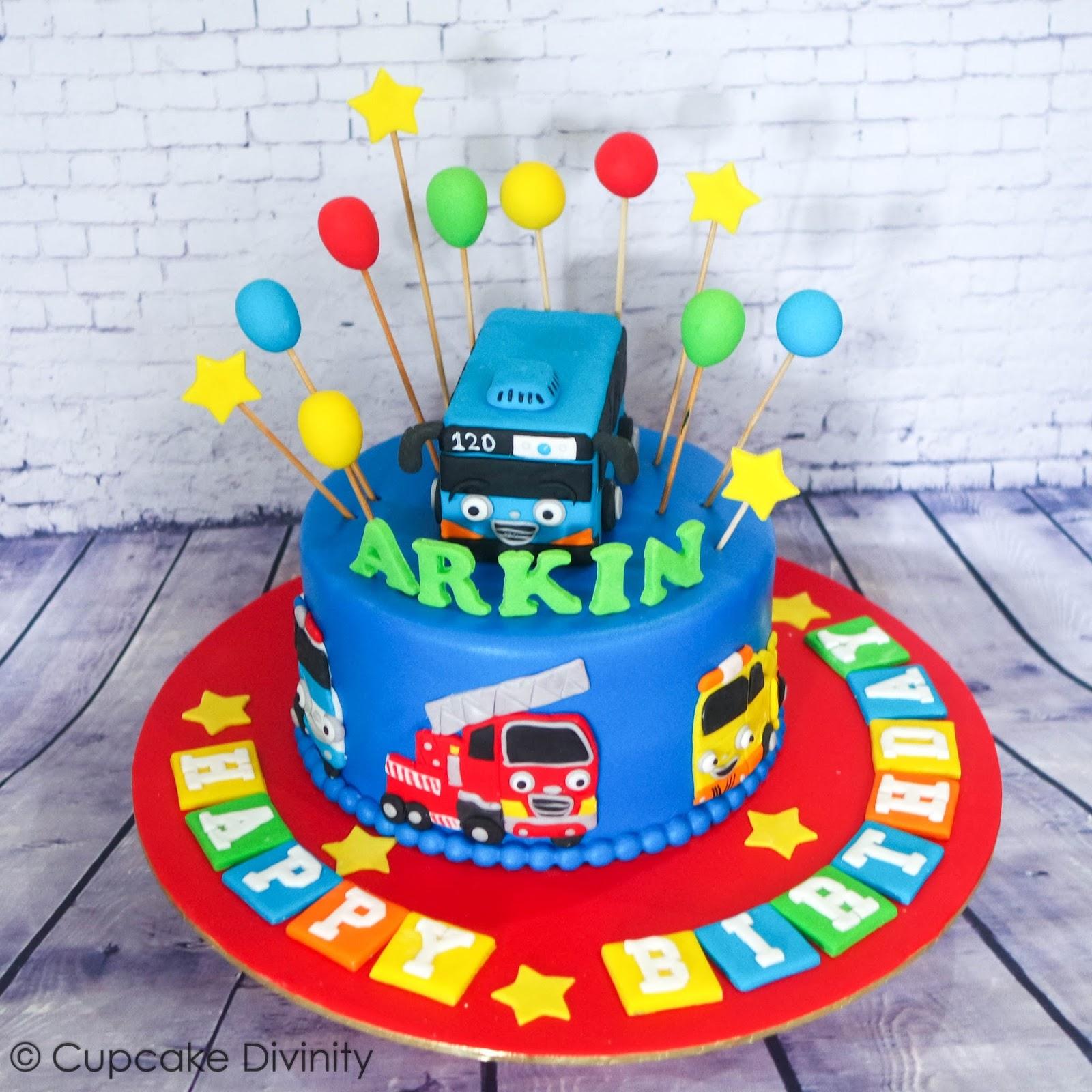 Bus Birthday Cake Singapore