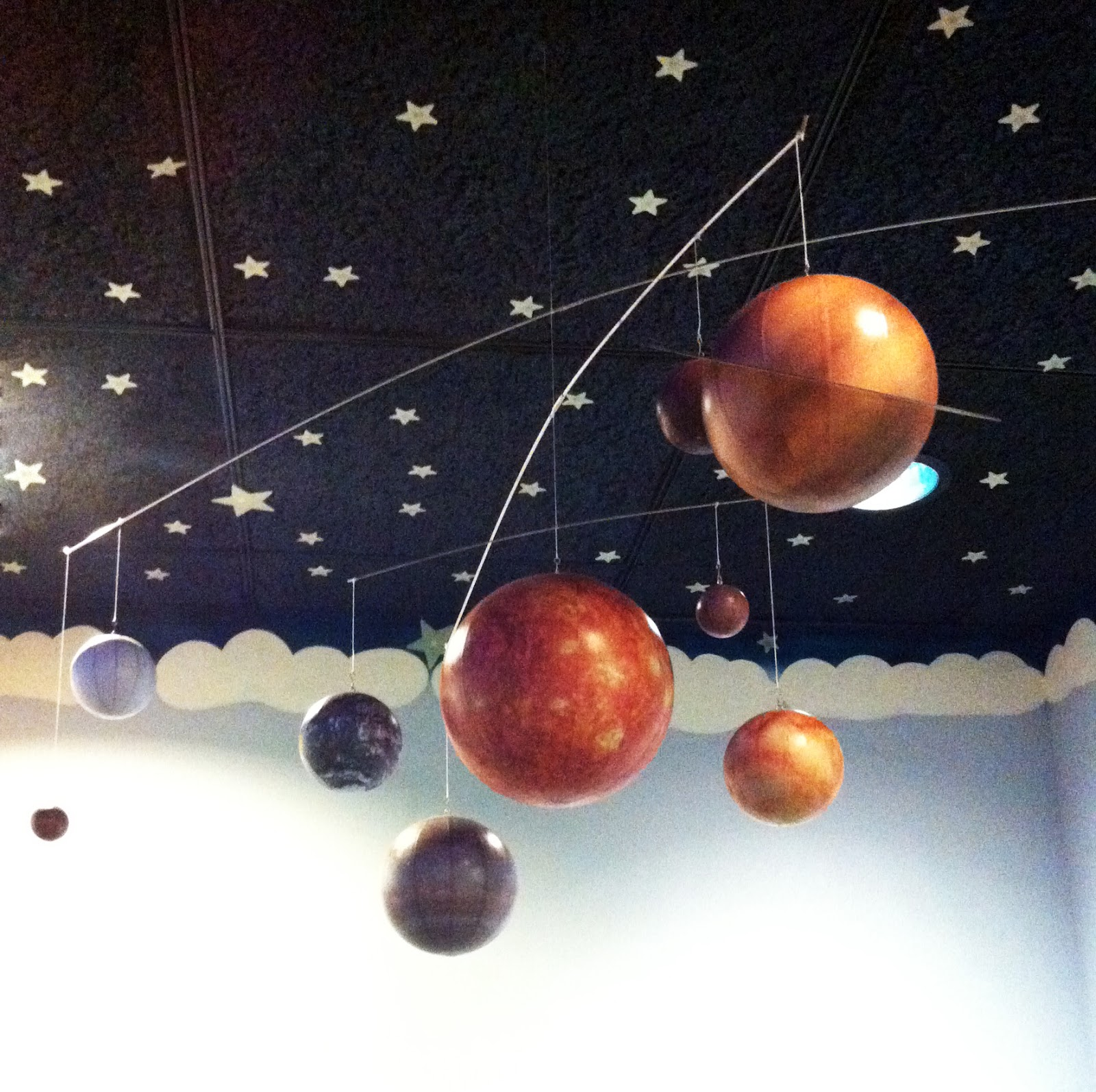 solar system on ceiling paint - photo #28