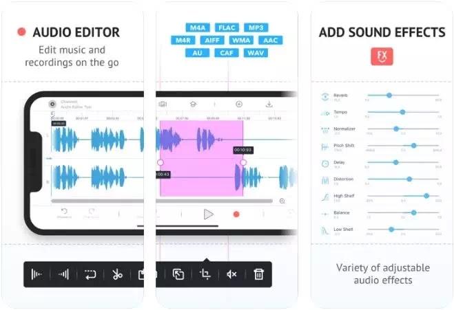 aplikasi editor musik gratis terbaik di iPhone dan iPad-8