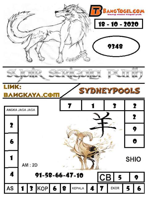 Kode syair Sydney Minggu 18 Oktober 2020 239