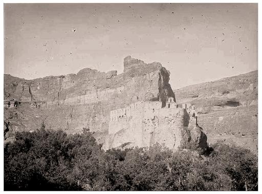 Título: Vista general Convento de la Hoz y alrededores (Segovia). Autor: Torres Balbás, Leopoldo