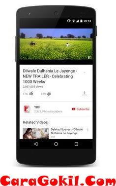 Cara Menonton Youtube Offline Di Android