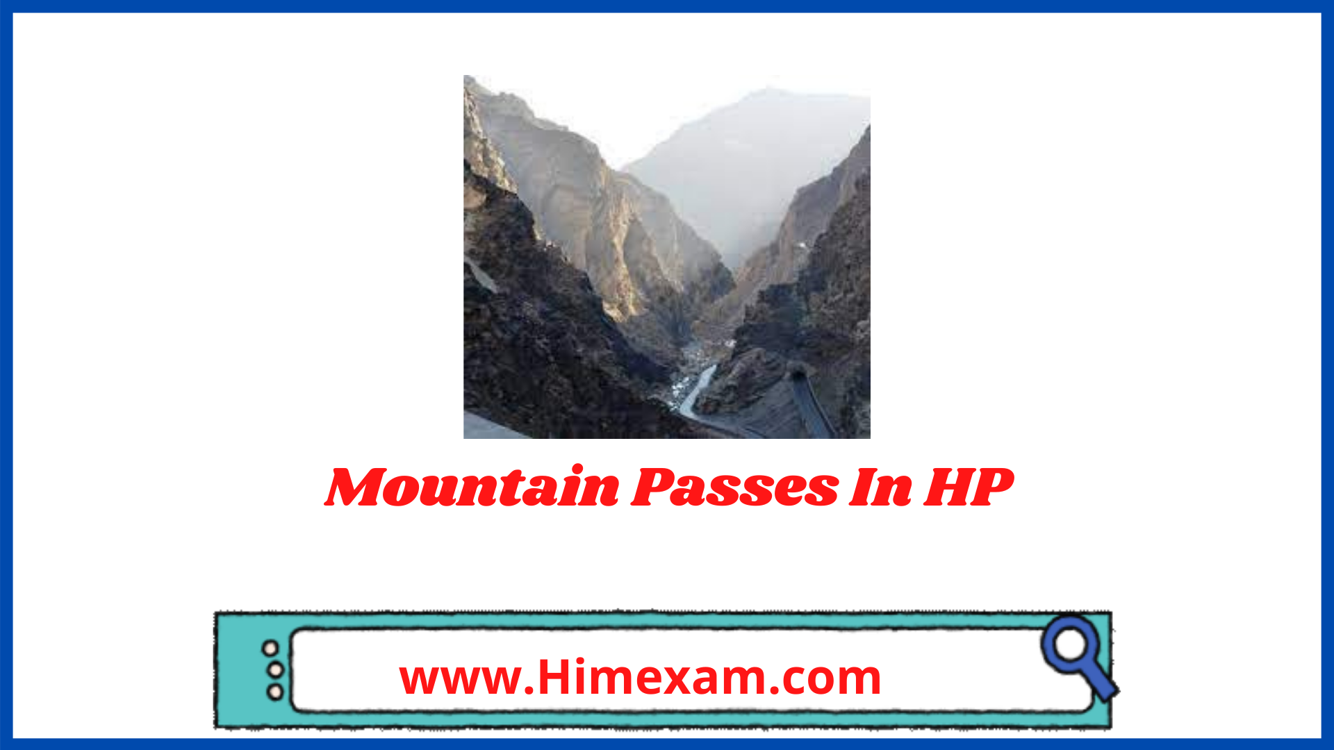 Mountain Passes In HP