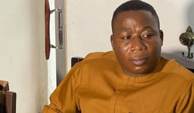 Sunday Igboho has been arrested in Cotonou