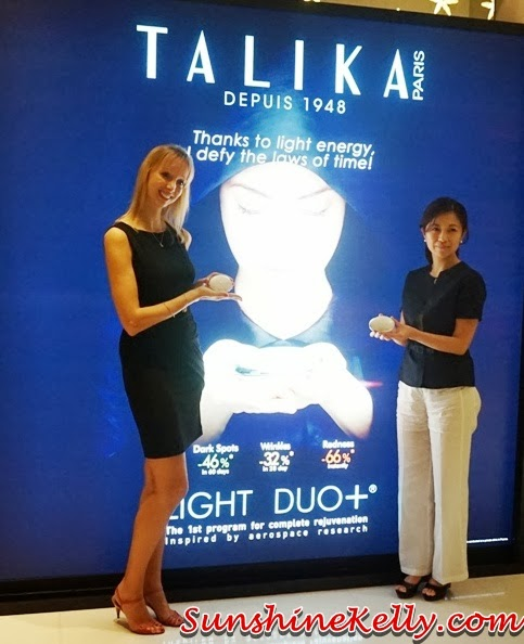 Talika Light Duo+, Talika light therapy, talika, anti aging device, anti aging technology, talika light duo+ launch