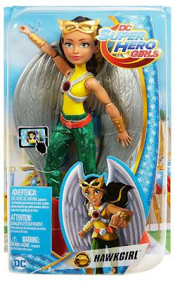 DC SUPER HERO GIRLS - Muñeca Hawkgirl : Chica Halcón | Mattel 2018 | COMPRAR JUGUETE - TOY - JOGUINES caja