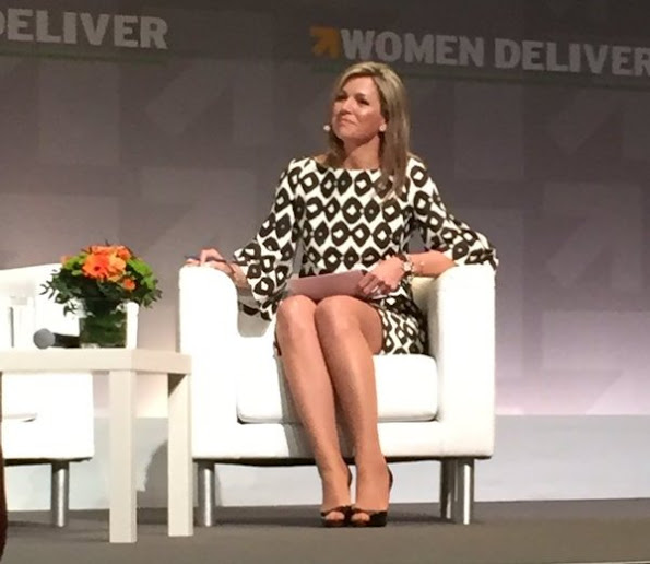 Dutch Queen Maxima and Princess Mabel arrived for Women Deliver Conference
