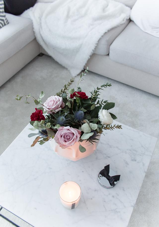 villa h, marmorinen sohvapöytä