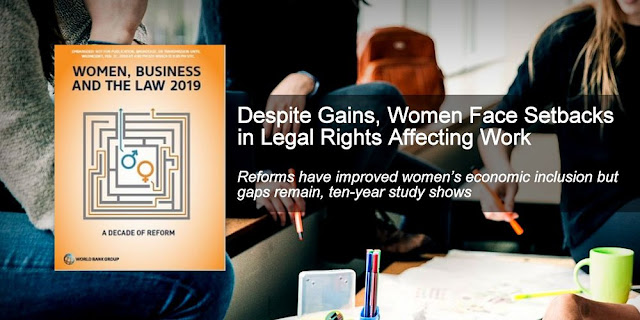 Despite Gains, Women Face Setbacks in Legal Rights Affecting Work