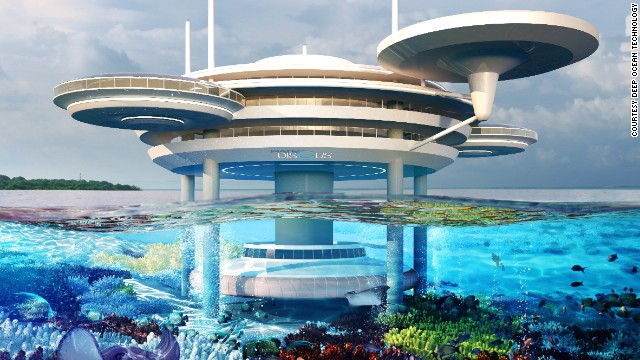 Space-age Underwater Hotel Planned For Maldives