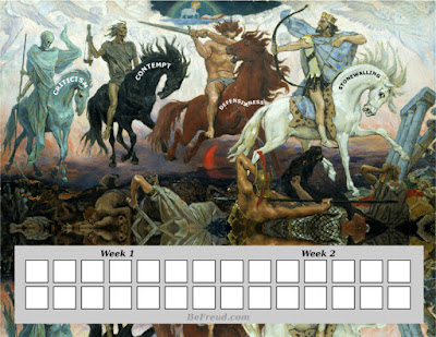 Image the 4 horsemen printable