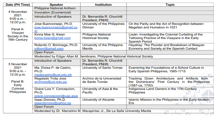 Session 3 | 2-Day Free Webinar on Formative Years of Spanish Philippines, 1565-1665  | October 25-26 | REGISTER NOW!