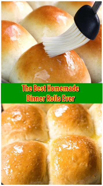 The Best Homemade Dinner Rolls Ever