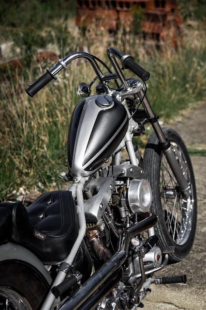 Harley Davidson Shovelhead By Forever The Chaos Life Hell Kustom