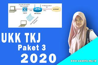 Soal UKK Teknik Komputer dan Jaringan Paket 3 K13 Terbaru 2020
