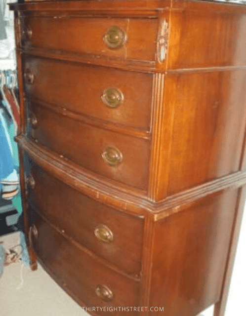 chalk paint furniture, how to chalk paint furniture, how to paint furniture, chalk painted furniture