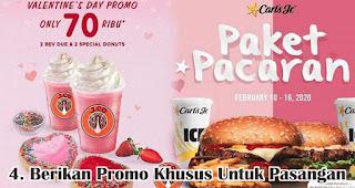 Berikan Promo Khusus Untuk Pasangan merupakan salah satu tips pikat pelanggan di hari valentine