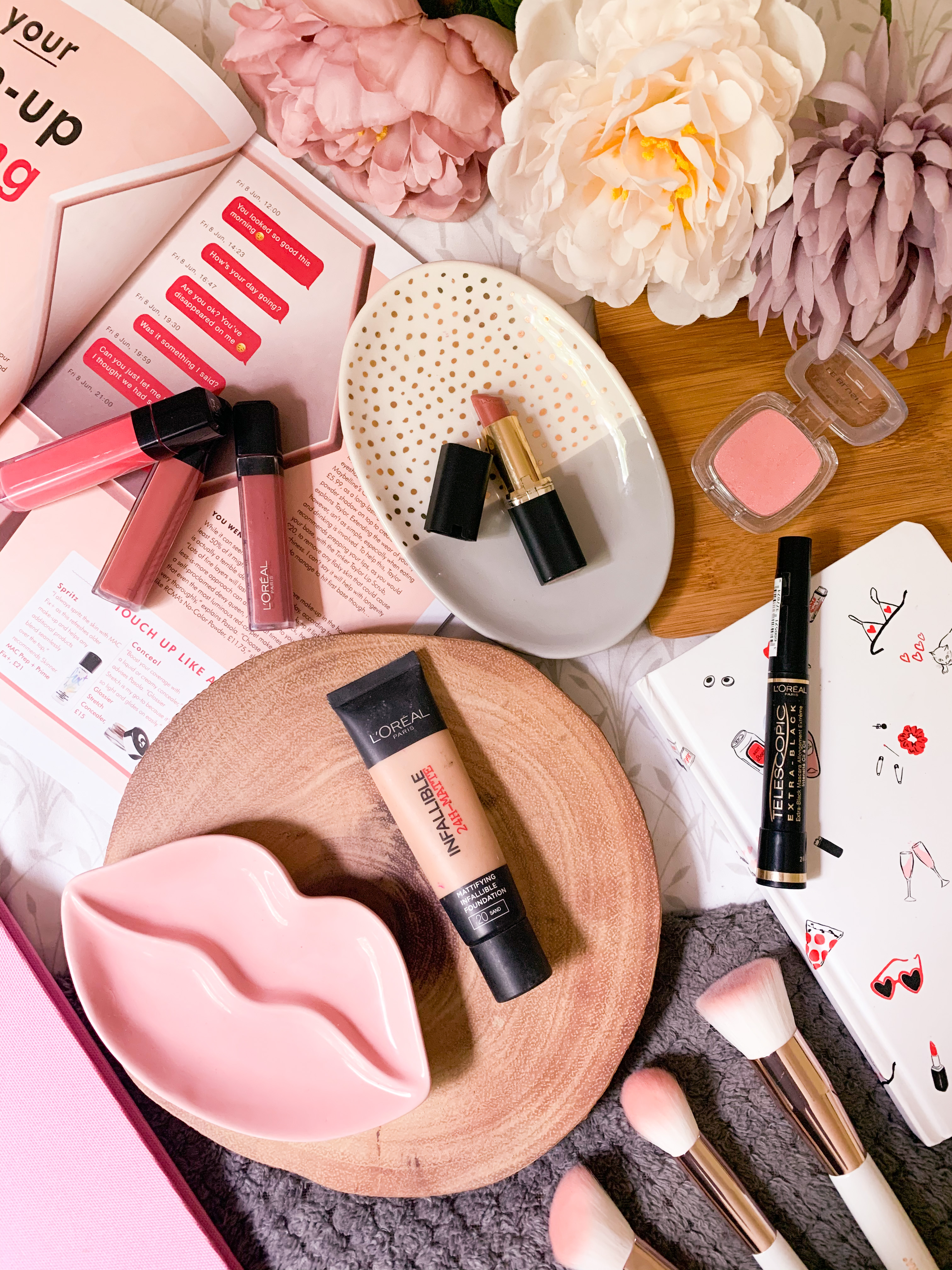 L'Oreal Brand Favourites Flatlay