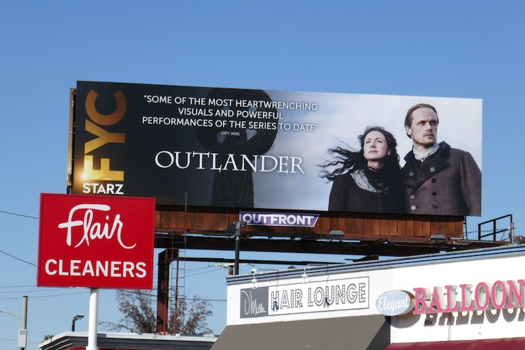 Outlander season 5 FYC billboard