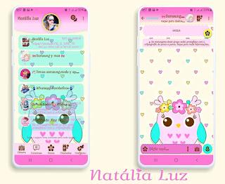 Bird Theme For YOWhatsApp & Fouad WhatsApp By Natalia Luz