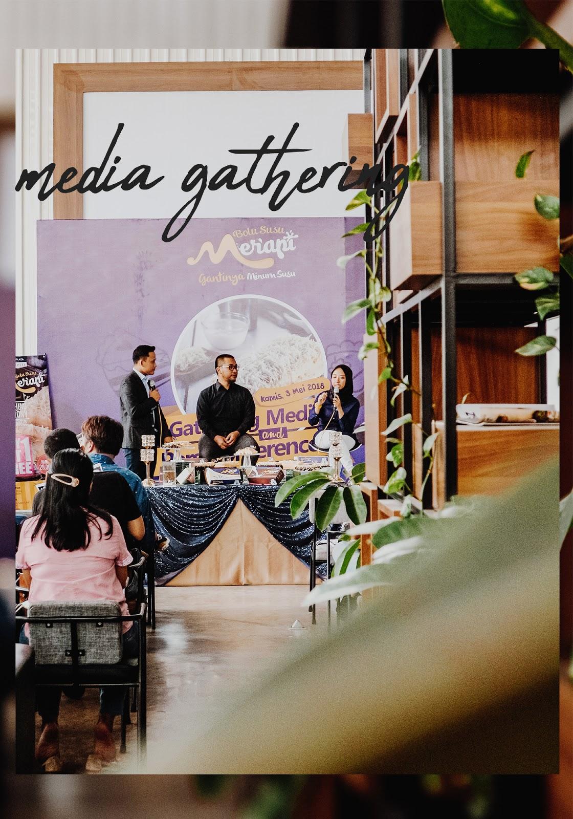 media gathering Bolu Susu Merapi di Sinergi Coworking Space