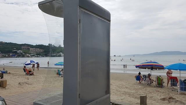 Como utilizar as duchas da Praia de Itapema