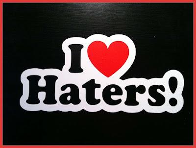Haters adalah...pengertian haters, artis dengan haters terbanyak,arti haters,kata kata untuk haters,haters mulan jameela  haters chibi  haters jkt48  haters snsd
