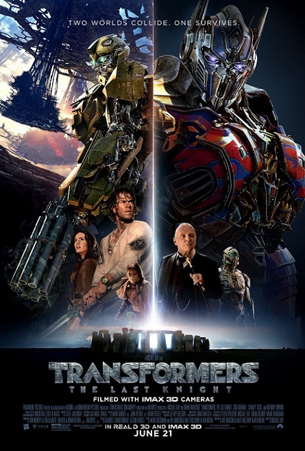 Transformers: The Last Knight (Transformers: El último caballero) (2017) 720p y 1080p HDRip mkv subs español