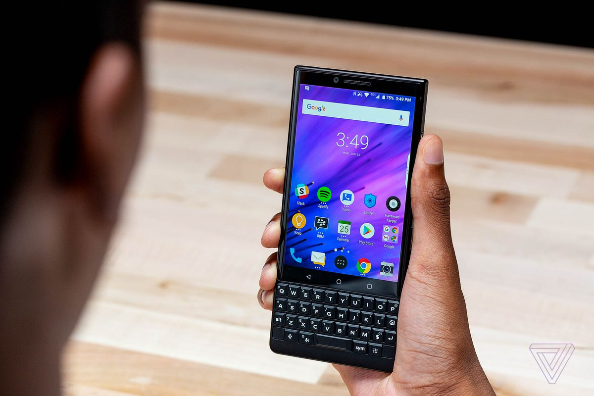 Blackberry to launch its upcoming 5G device with physical Keypad