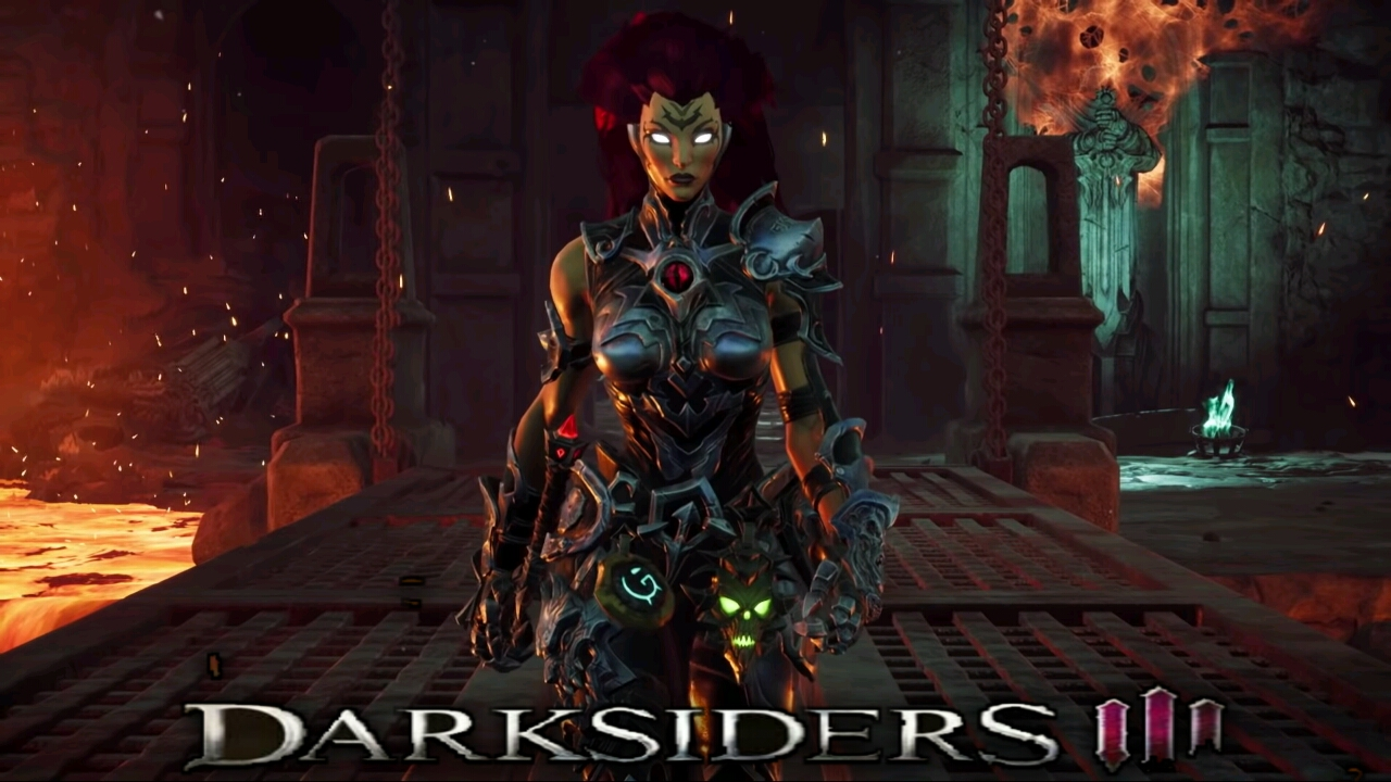 Darksiders III Intro released and fury's Apocalypse for PS4 xbox one and pc