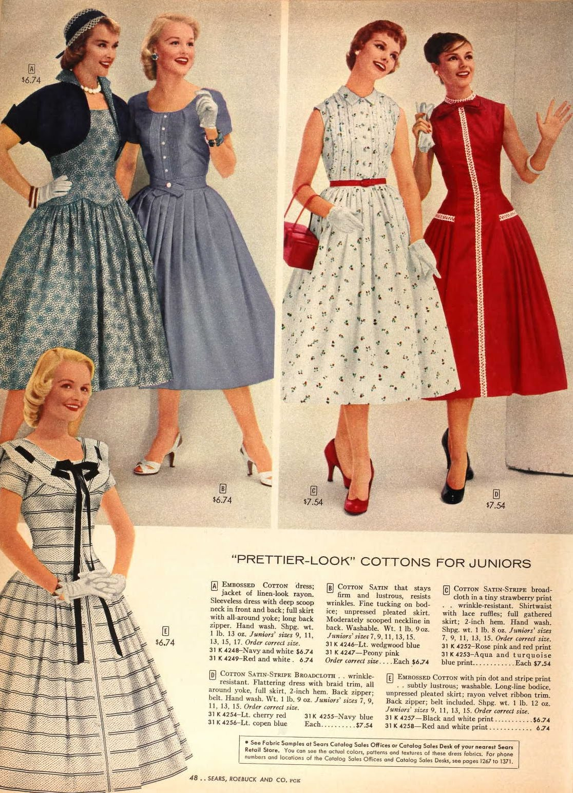 Snapped Garters 1957 Fashions In Colour