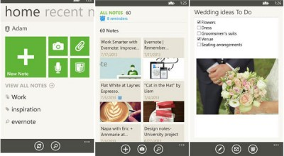 Update Evernote di Windows Phone, Hadirkan Fitur Document Camera