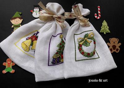woreczki na prezenty :)
