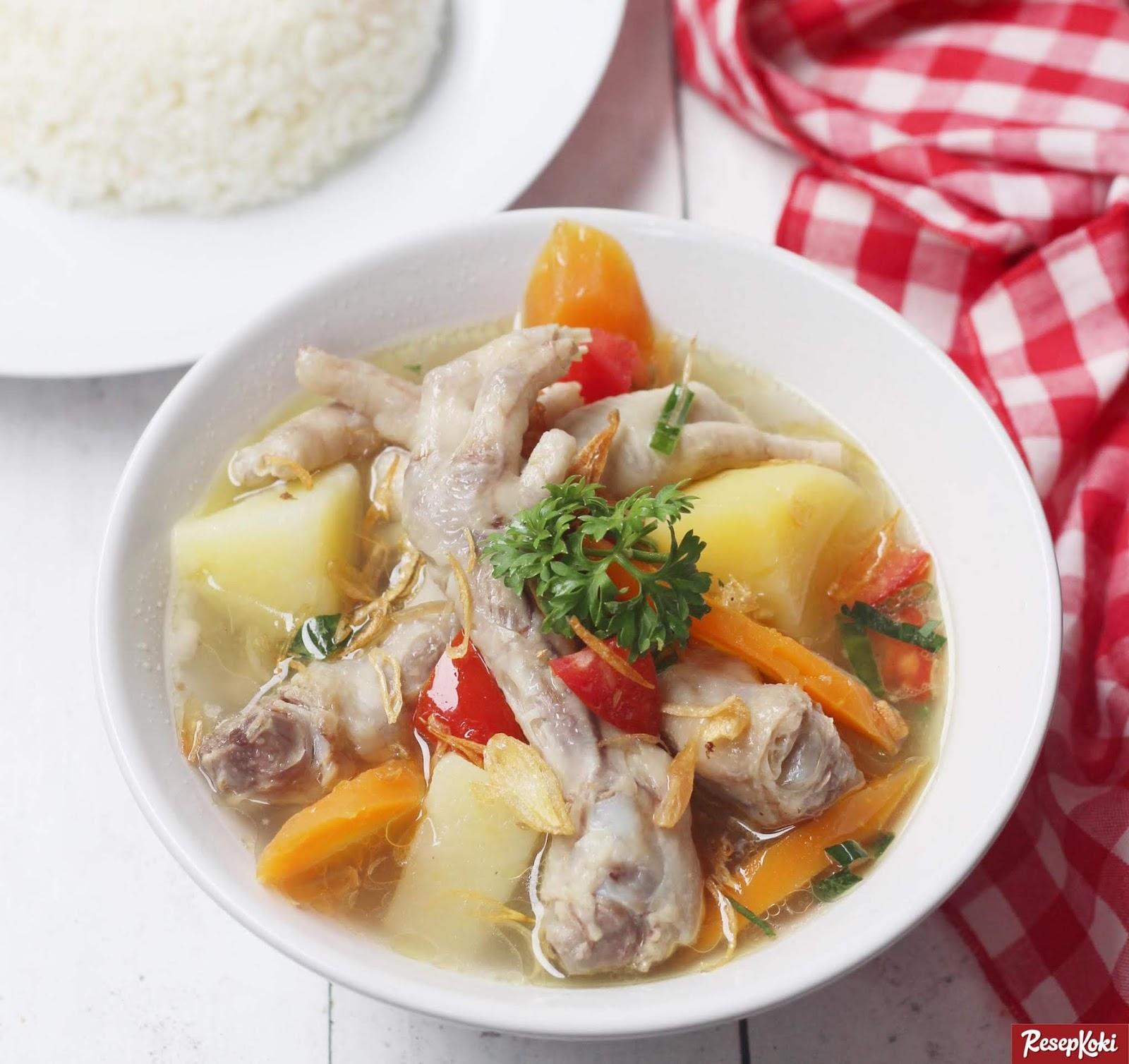 Kandungan Nutrisi, Kalori dan manfaat ceker Ayam bagi kesehatan