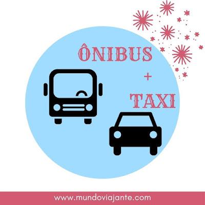onibus e carro